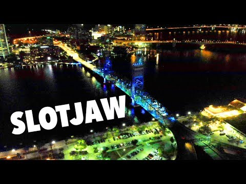 Mavic Air DOWNTOWN NIGHT FLIGHT Slotjaw FLORIDA JACKSONVILLE CITY  main street bridge