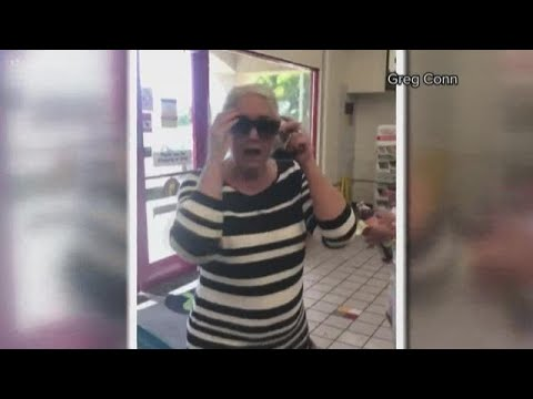 Woman's racist rant caught on camera from YouTube · Duration:  2 minutes 16 seconds