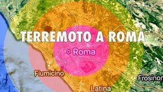 SCOSSA DI TERREMOTO A ROMA NELLA NOTTE: TANTA PAURA TRA LA GENTE