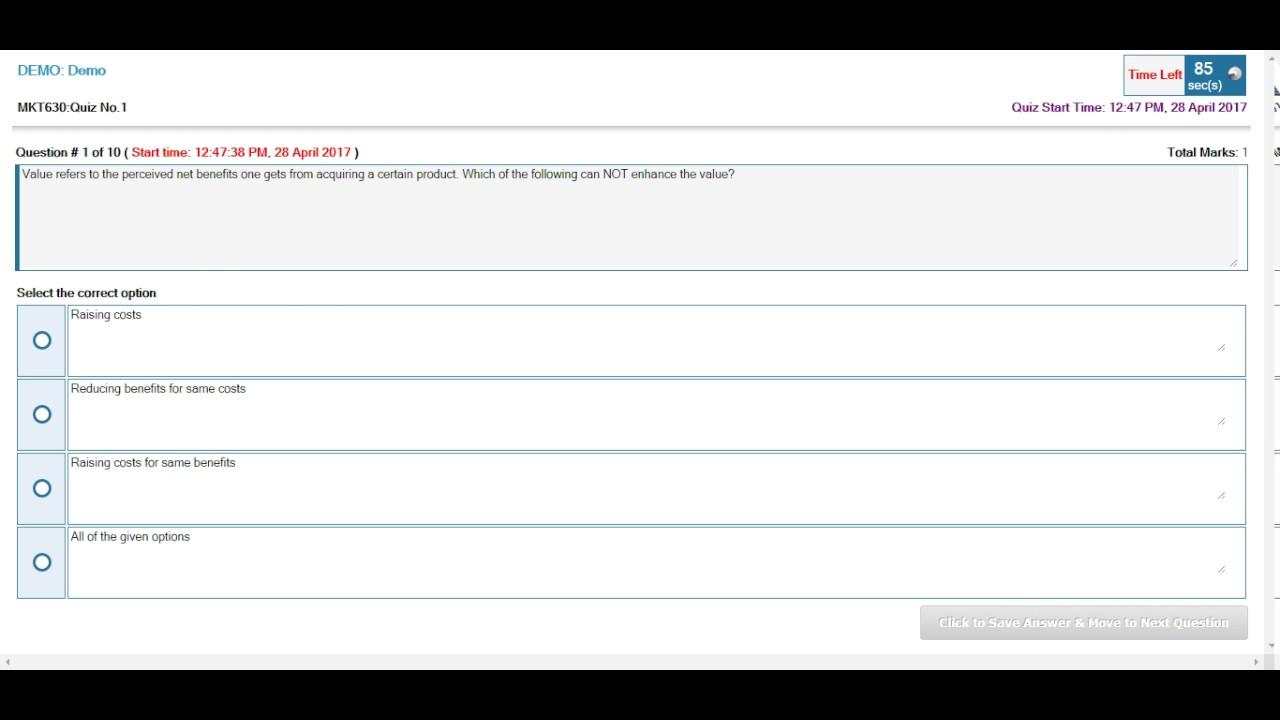 How to copy Quiz in VU