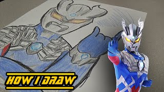 Ultraman Zero - How I Draw