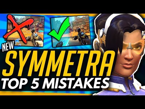 Overwatch | NEW SYMMETRA - Top 5 Mistakes You Need To Avoid! /w Rank #1 Sym (ft MrBobWagner)