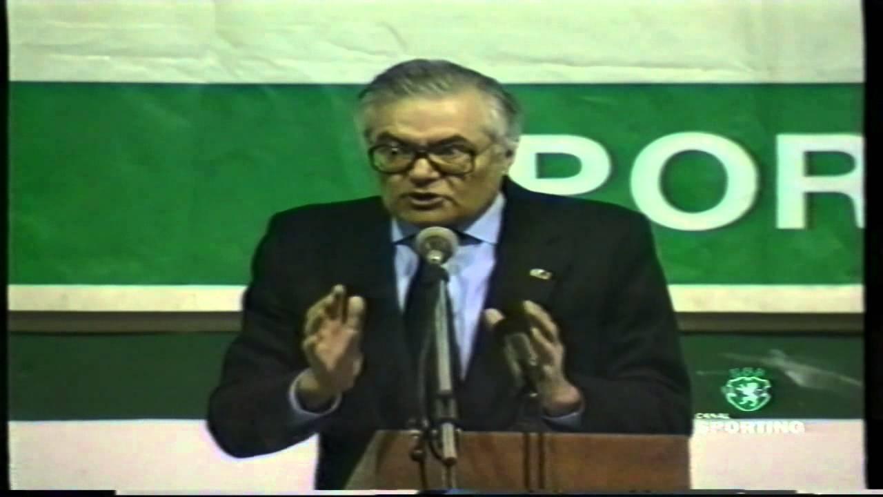 Eleições no Sporting a 12/02/1999 - José Roquette reeleito