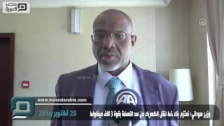 مصر العربية | وزير سوداني: نعتزم بناء خط لنقل الكهرباء من سد النهضة بقوة 3 آلاف ميغاواط