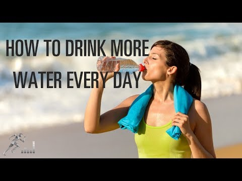 4 tips to drink more water each day