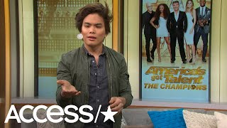 Why 'AGT: The Champions' Winner Shin Lim Almost Turned Down The Show! (EXCLUSIVE) | Access