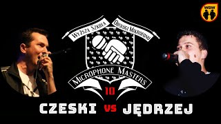 CZESKI vs JĘDRZEJ @ Microphone Masters 10 @ freestyle battle
