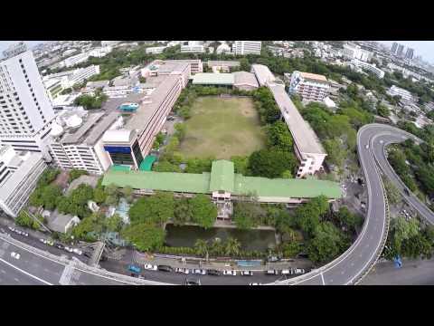 bird eye view จิตอาสา ม.1 สามเสนวิทยาลัย 2558/1