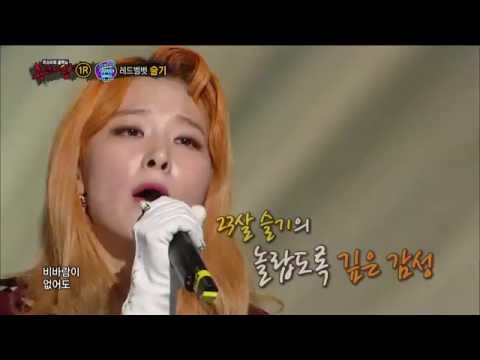 【TVPP】SEULGI(Red Velvet)-Turning the Pages of Memories, 슬기(레드벨벳)-추억의 책장을 넘기면@King Of Masked Singer