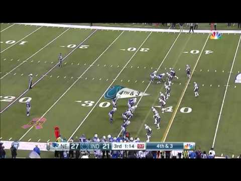 Colts Fake Punt  vs Patriots Week 6 - DUMBEST PLAY IN COLTS HISTORY