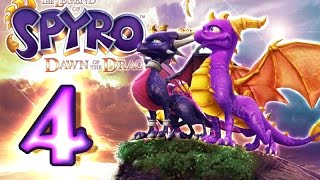 The Legend of Spyro: Dawn of the Dragon Walkthrough Part 4 (X360, PS3, Wii, PS2) Valley of Avalar