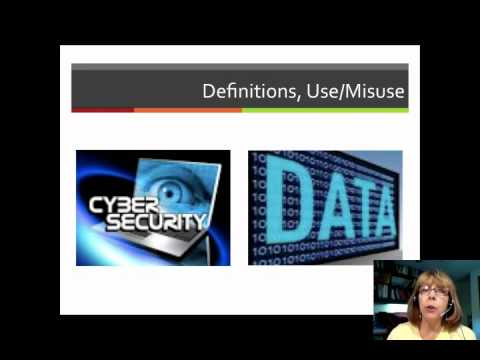 Emerging Future: Technology Issues and Trends MOOC Module 5 Cybersecurity and Big Data