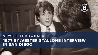 1977 Sylvester Stallone interview in San Diego