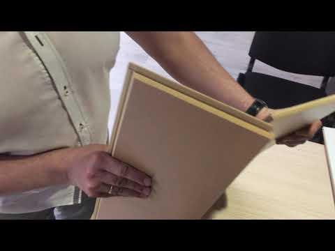 Тест на прочность ламината толщиной 8 и 12 мм на неровном полу
