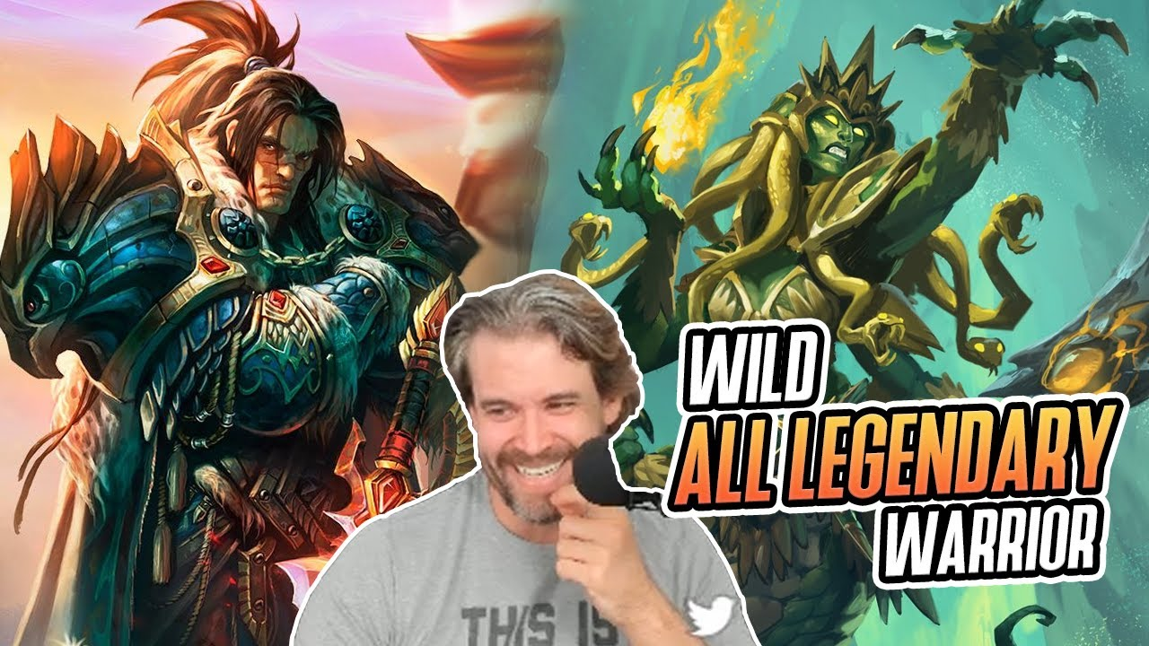 (Hearthstone) Wild ALL LEGENDARY Warrior