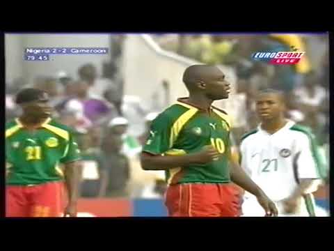 Patrick Mboma vs Nigeria ● 2000 African Cup of Nations Final