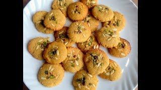 Atta Biscuits Recipe In Hindi - कढ़ाई में बनाये आटा बिस्किट-Atta Biscuits Recipe-Cookie Recipe