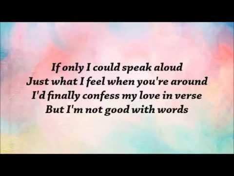 Jacob Whitesides - Words (lyrics)