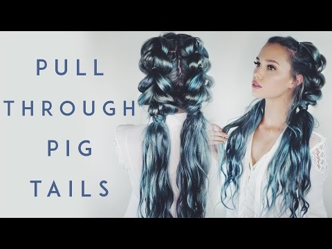 Pull Through Braid Pigtails  Kirsten Zellers