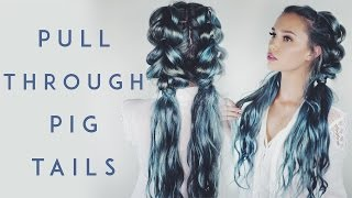 Pull Through Braid Pigtails | Kirsten Zellers
