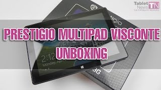 Prestigio Multipad Visconte Windows 8.1 Tablet Unboxing - Tablet-News.com