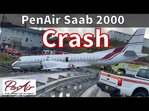 PenAir Crashes In Unalaska/Dutch Harbor