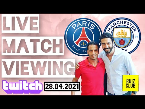 PSG 1-2 CITY / VIEWING RUIZCLUB / UCL 2020-21