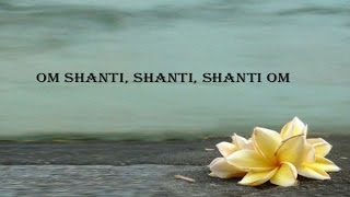 """The shanti mantras or """"peace mantras"""" are hindu prayers for peace (shanti) from vedas. generally they recited at beginning and end of religious r..."""
