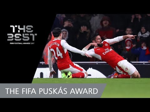 Olivier GIROUD - FIFA PUSKAS AWARD 2017 FINAL 3! - VOTING CLOSED!