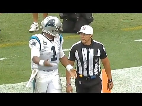 Cam Newton Accuses NFL Referee of Ageism