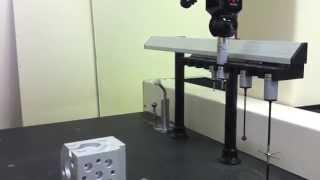 Capps Dmis PH10 M SP25 analog tarama probu ile ölçüm