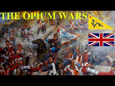 THE OPIUM WARS I - The Lion + the Dragon. The Tea + the Opium.