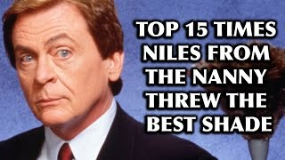 "Top 15 Times Niles from ""The Nanny"" Threw the Best Shade"