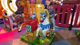 Yasmin is having fun TH ARUZHAN Nur-Sultan city