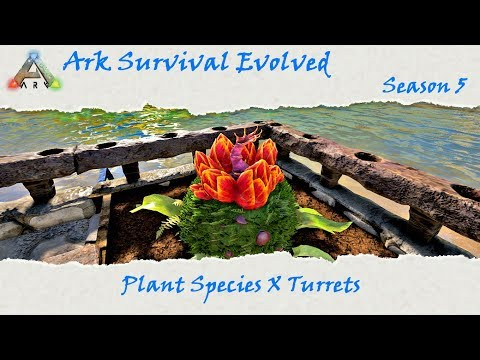 Ark Survival Evolved S5E18: Plant Species X and a new trike