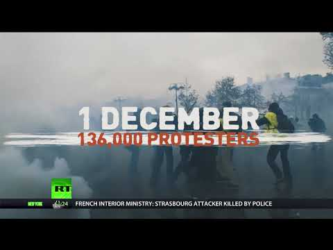 Yellow Vests timeline: How protests against tax hikes escalated in France