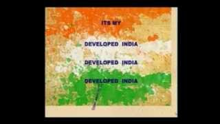 Song of the youth-Adrshya-Developed india