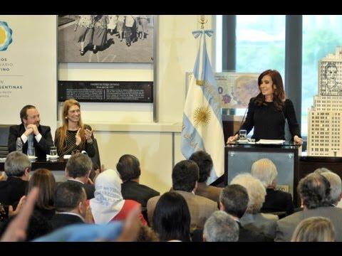 01 de OCT. Designación de Martín Sabbatella al frente del AFSCA. Cristina Fernández.