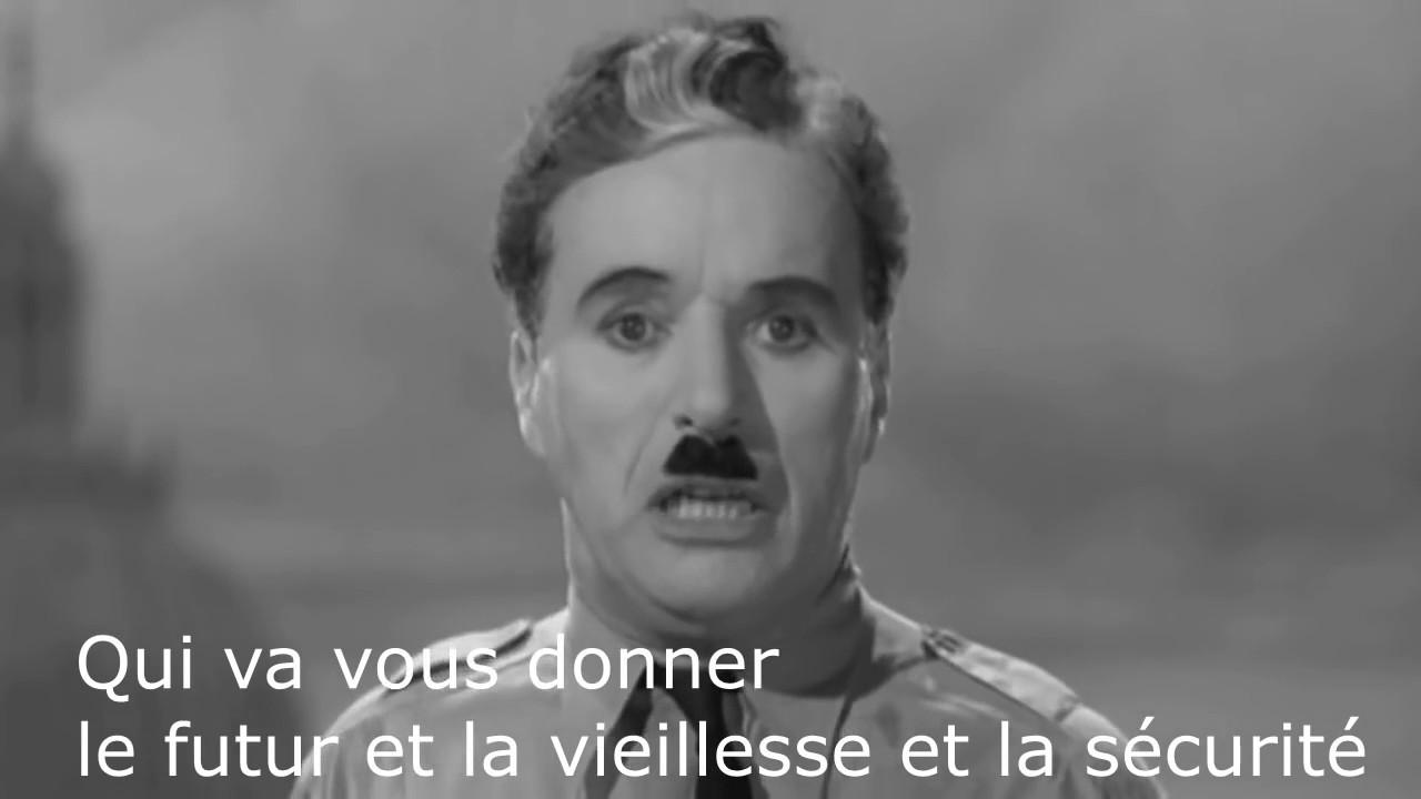 Charlie Chaplin, the Dictator