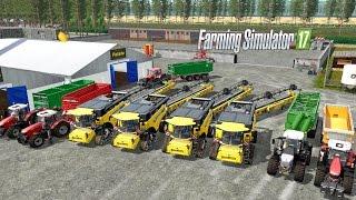 Farming Simulator 17  Największa akcja żniw rzepaczanych  :D Folwark#2