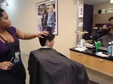 Aruna & Hari Sharma in Supercuts Hair Salon Clearwater Mall, FL, USA April 19, 2013