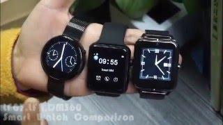 dm360 vs lf07 vs lf11 smart watch comparison