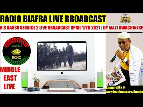 Shabbat Shalom: Radio Biafra (MIDDLE-EAST LIVE) Broadcast April 17TH 2021 | By Mazi Uchenna Obilo