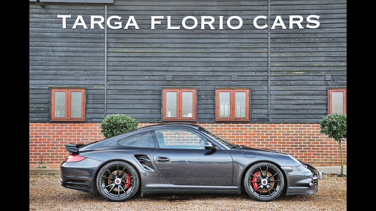 Porsche 911 Turbo 997 Gen Ii 3 8 Flat 6 Pdk Automatic In Atlas Grey Metallic London Uk Youtube