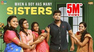 When boy has many sisters || Narikootam || Tamada Media