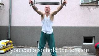 How to train with chest expanders (Rata Zong erklärt)