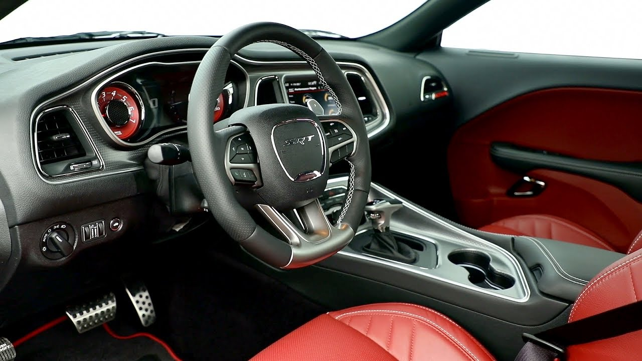 2018 dodge charger black interior