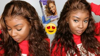 How To Dye 360 Lace Wig At Home | From Black to Golden Bronze | OMGHERHAIR