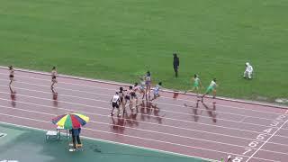 H30 千葉県高校新人 女子4x400mR 4組 決勝タイムレース
