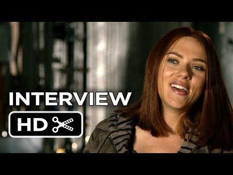 Captain America: The Winter Soldier Interview - Scarlett Johansson (2014) - Marvel Movie HD